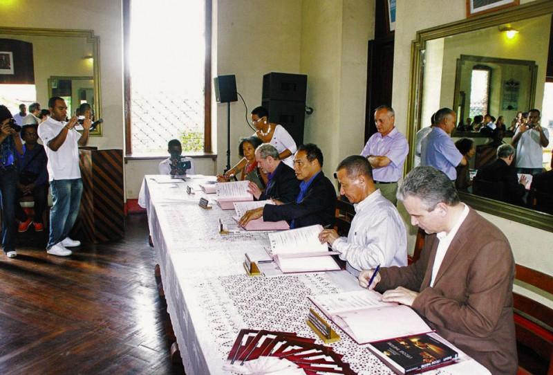 Signature convention TEK 1