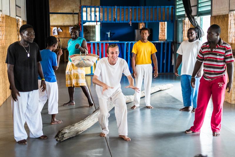 Répétition du Songe d'une nuit d'été -TEK Guyane