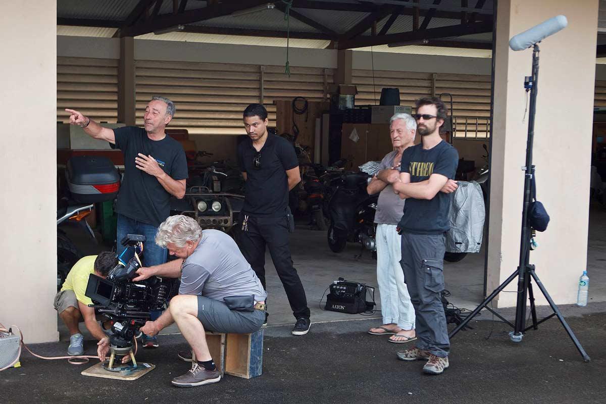"Le tournage du Teaser ""Caïman d'Or"" - Thierry-Photocréation, Alain-Maline"