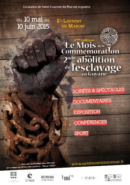 Commémoration de la 2nde Abolition de l'Esclavage en Guyane