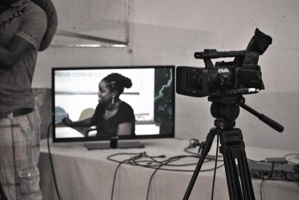 le métiers de l'audiovisuel